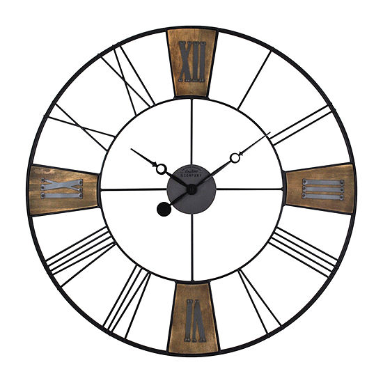 Firstime Reclaimed Plaques Wall Clock