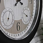 Firstime Summer Cottage Outdoor Wall Clock