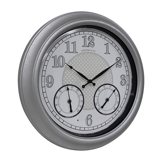 Firstime Radiant Led Outdoor Wall Clock