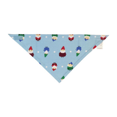 Secret Santa Gnomes Family Pet Bandana