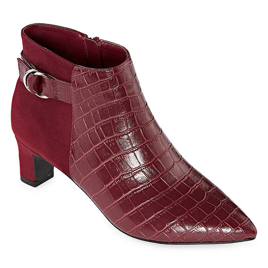 east 5th Womens Delmar Block Heel Booties