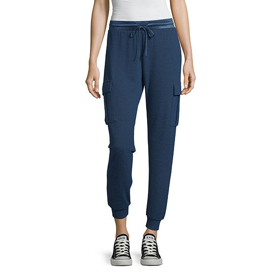 Inspired Hearts Womens Mid Rise Jogger Pant Juniors