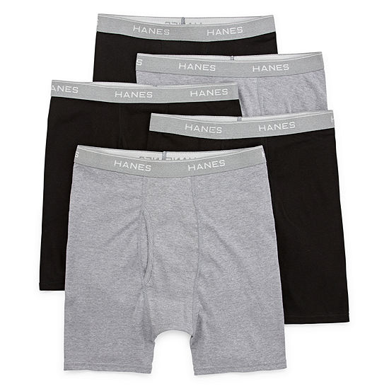 Hanes 4+1 Bonus Pair Boxer Brief - Men's