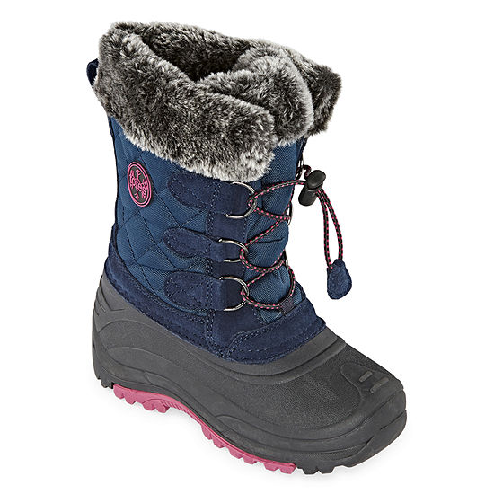 Totes Little Kid/Big Kid Girls Jenna Waterproof Insulated Winter Boots