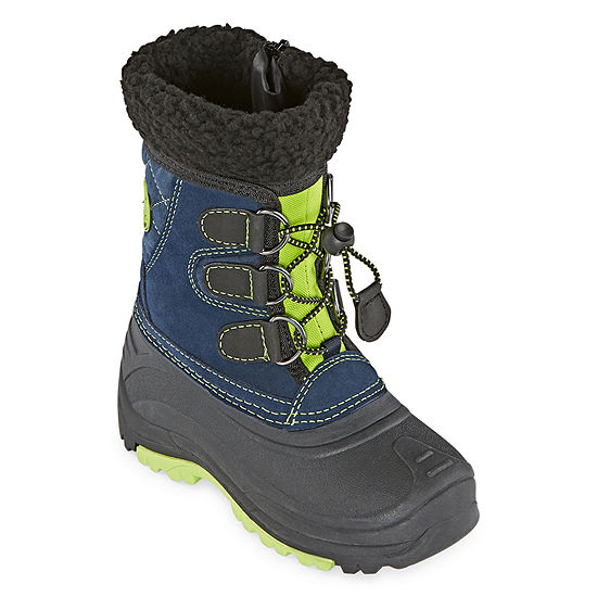 Totes Jackson Waterproof Insulated Zip Little Kid/Big Kid Boys Winter Boots