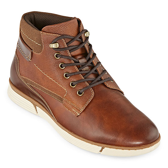 JF J.Ferrar Mens Aldrin Lace Up Boots