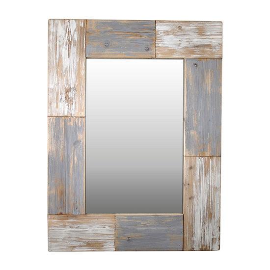 FirsTime® Mason Planks Mirror