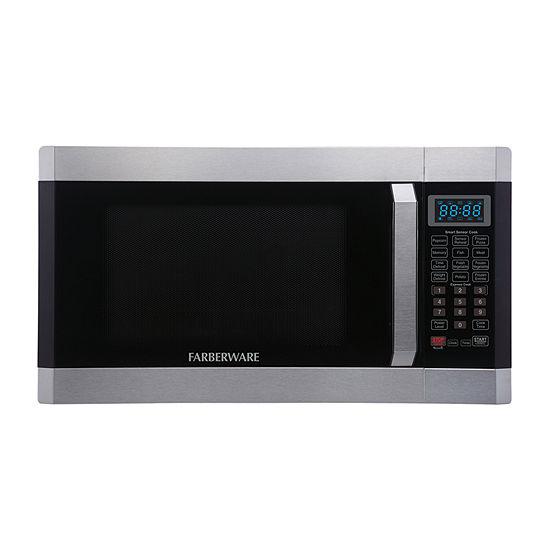 Farberware Professional FMO16AHTPLB 1.6 Cu. Ft 1100- Watt Microwave Oven with Smart Sensor