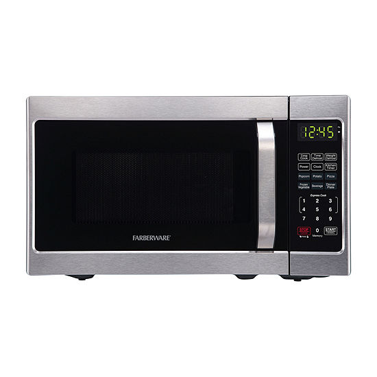 Farberware Classic 0.7 Microwave Oven, Brushed Stainless