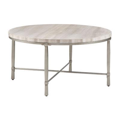 Madison Park Boca Round Coffee Table