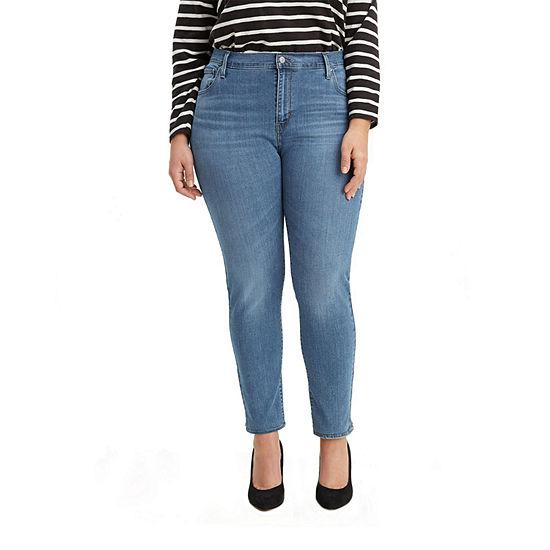 Levi's - Plus 721 High Rise Womens Skinny Fit Jean