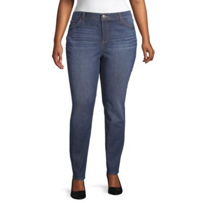 Liz Claiborne Flexi Fit Skinny Jeans - Plus