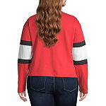 Long Sleeve Sweatshirt-Juniors Plus