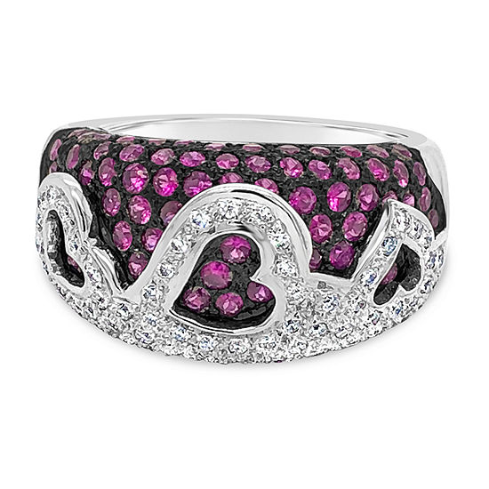 LIMITED QUANTITIES! Le Vian Grand Sample Sale™ Ring featuring Passion Ruby™ Vanilla Diamonds® set in 18K Vanilla Gold®