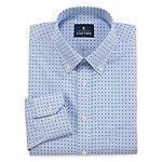 Stafford Mens Non-Iron Cotton Pinpoint Oxford Dress Shirt