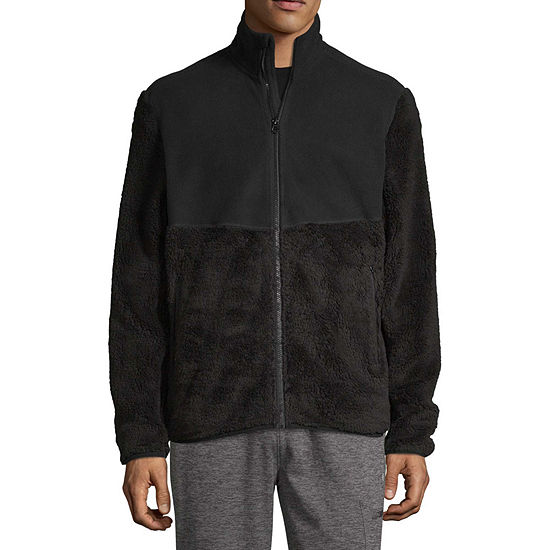 Xersion Mens Outdoor Lightweight Sherpa Jacket
