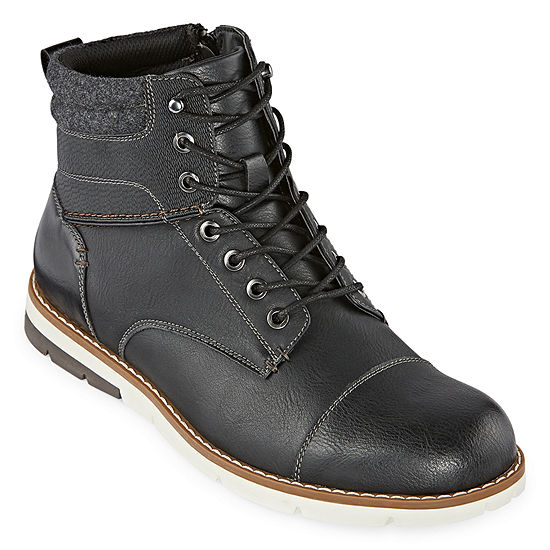 JF J.Ferrar Mens Molina Lace Up Boots