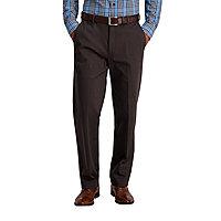 Essentials Expandable Waist Classic-fit Pleated Dress Pants Dress-Pants Hombre