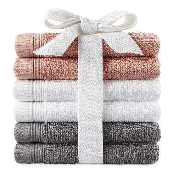 Morgan 6pc Washcloth Set $2.15
