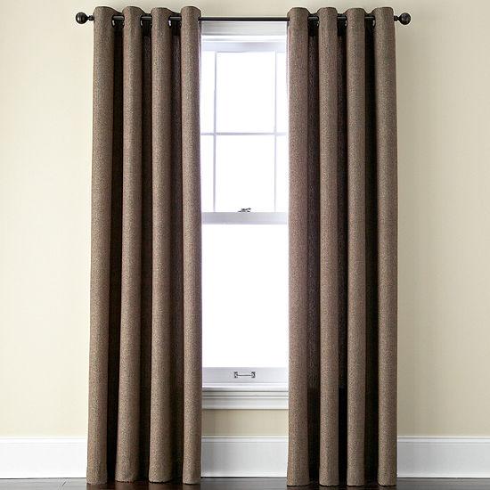 Linden Street Grommet-Top Single Curtain Panel