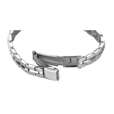 Seiko Womens Silver Tone Bracelet Watch-Sup345