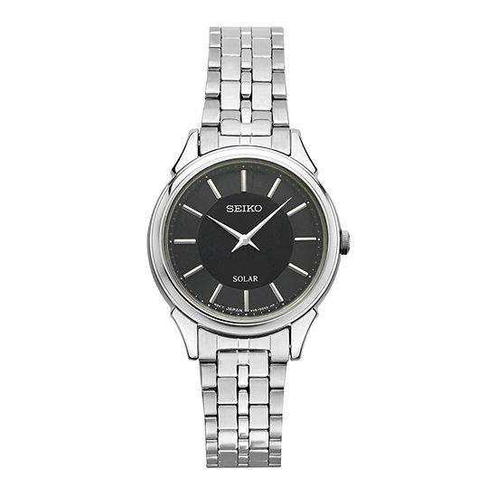 Seiko Womens Silver Tone Bracelet Watch-Sup343