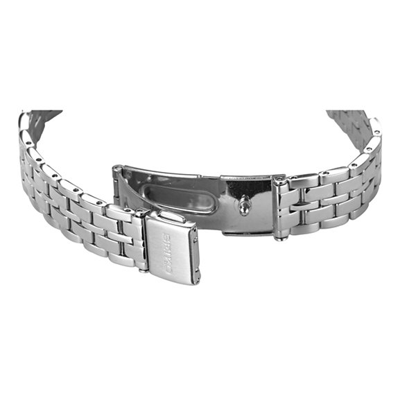 Seiko Womens Silver Tone Bracelet Watch-Sup343