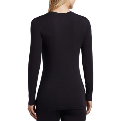 Cuddl Duds® Softwear Long-Sleeve Crewneck T-Shirt