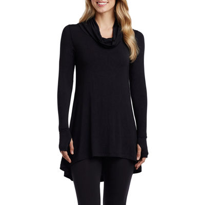 Cuddl Duds® Softwear Long-Sleeve Cowlneck Tunic