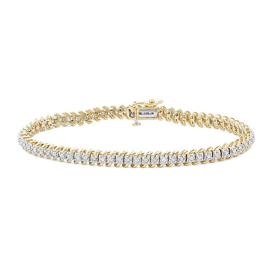 Ct T W Genuine White Diamond 10k Gold