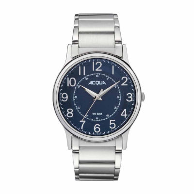 Timex Acqua By Timex Mens Silver Tone Bracelet Watch-Aa3c788009j