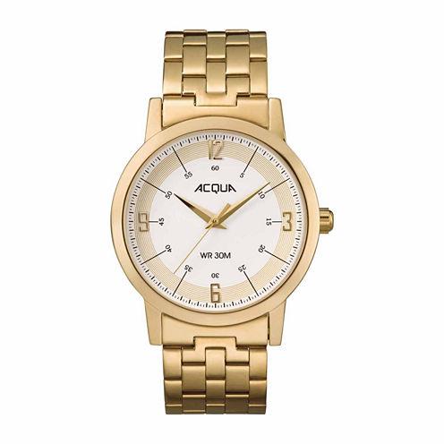 Timex Acqua By Timex Mens Gold Tone Bracelet Watch-Aa3c789009j
