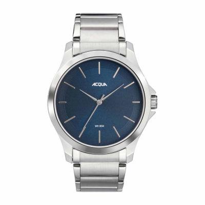 Timex Acqua By Timex Mens Silver Tone Bracelet Watch-Aa3c793009j