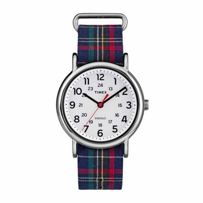 Timex Weekender 38 Womens Multicolor Strap Watch-Tw2r109009j