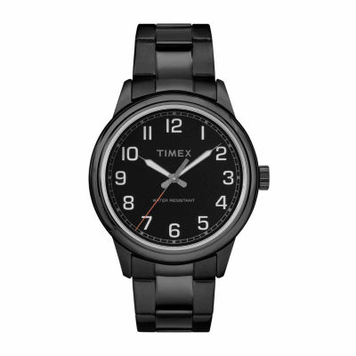 Timex New England Mens Black Bracelet Watch-Tw2r36800jt