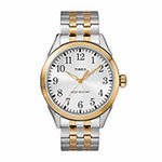 Timex Briarwood Mens Two Tone Stainless Steel Bracelet Watch-Tw2r48100jt