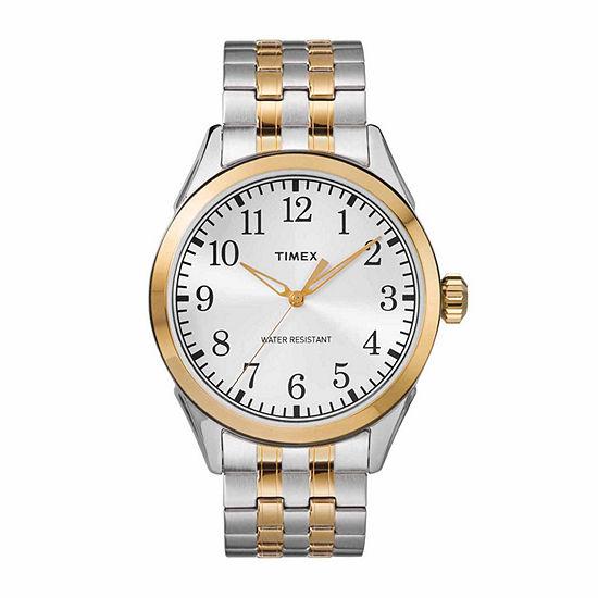 Timex Briarwood Mens Two Tone Bracelet Watch Tw2r48100jt