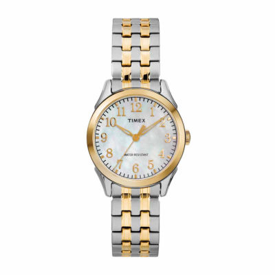 Timex Briarwood Womens Two Tone Bracelet Watch-Tw2r484009j