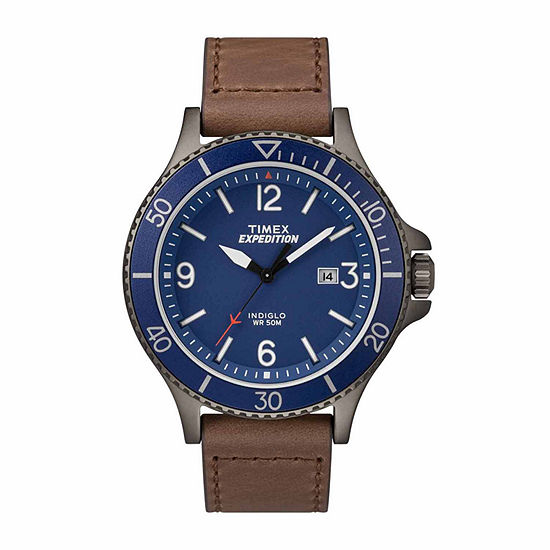 Timex Expedition Ranger Mens Brown Strap Watch Tw4b107009j