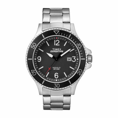 Timex Expedition Ranger Mens Silver Tone Bracelet Watch-Tw4b109009j