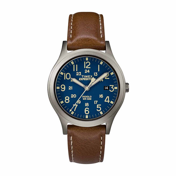 Timex Expedition Scout 36 Unisex Brown Strap Watch-Tw4b111009j