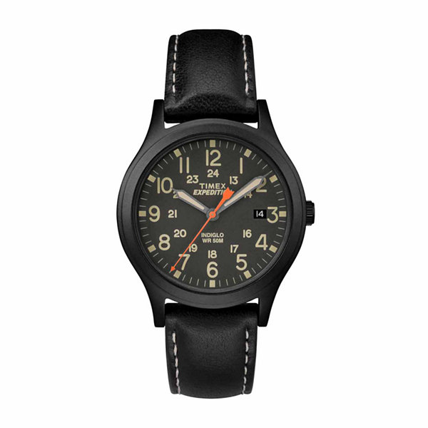 Timex Expedition Scout 36 Unisex Black Strap Watch-Tw4b112009j