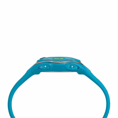 Timex Ironman Sleek 50 Mid-Size Womens Blue Strap Watch-Tw5m135009j