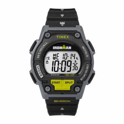 Timex Ironman Endure 30 Mens Black Strap Watch-Tw5m138009j