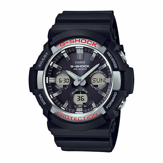Casio Mens Black Strap Watch Gas100 1a
