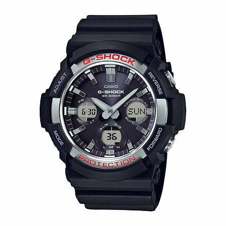 Casio G-Shock Mens Black Strap Watch-Gas100-1a, One Size