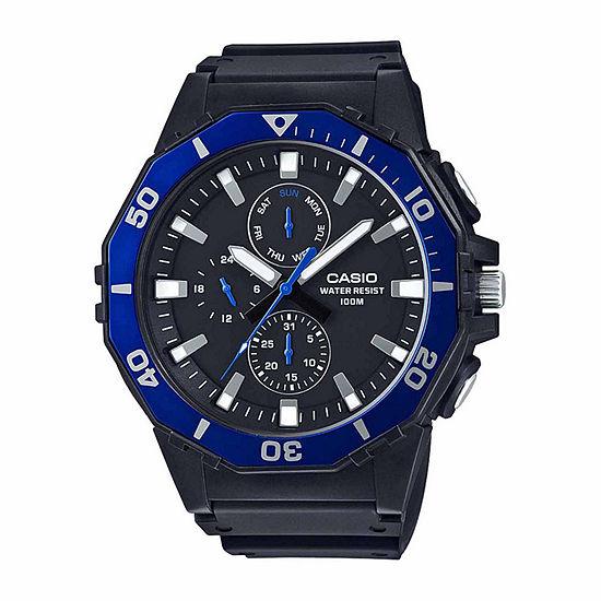Casio Mens Black Strap Watch Mrw400h 2a