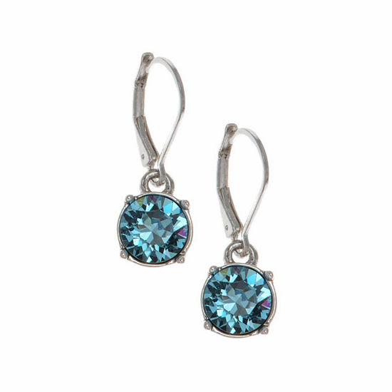 Gloria Vanderbilt 1 Pair Circle Drop Earrings