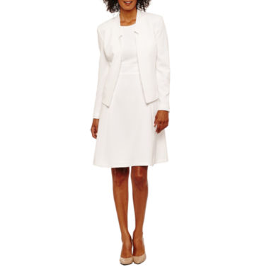 jcpenney.com | Black Label by Evan-Picone Long Sleeve Jacket or Sleeveless Fit & Flare Dress