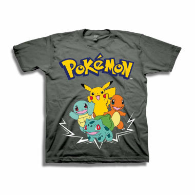 Pokemon Graphic T-Shirt-Big Kid Boys